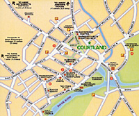 Stratford Street Map for Courtland